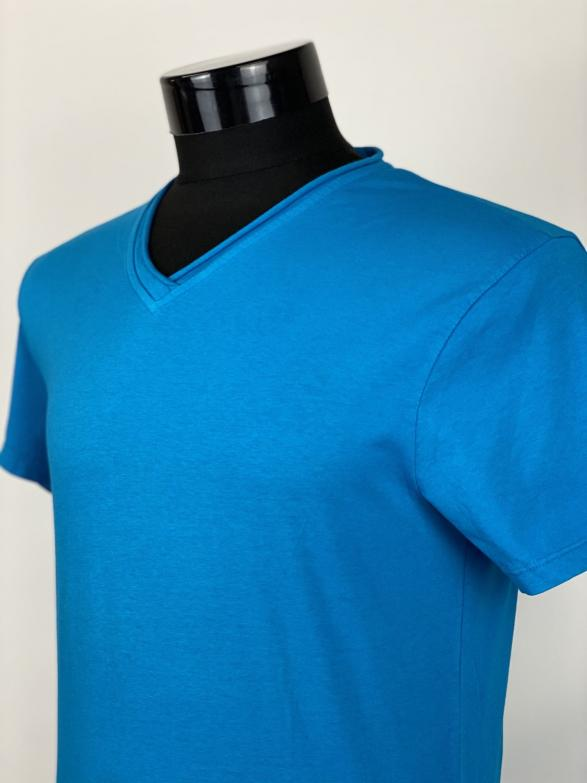 Tricou din bumubac TURQUOISE